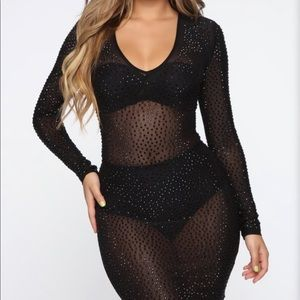 Fashionnova Rhinestone Dress